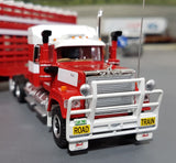 1/64 HIGHWAY REPLICAS BARKLY TRANSPORT MACK SUPERLINER ROADTRAIN TRIPLE