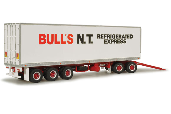 1/64 HIGHWAY REPLICAS BULLS BOX TRAILER