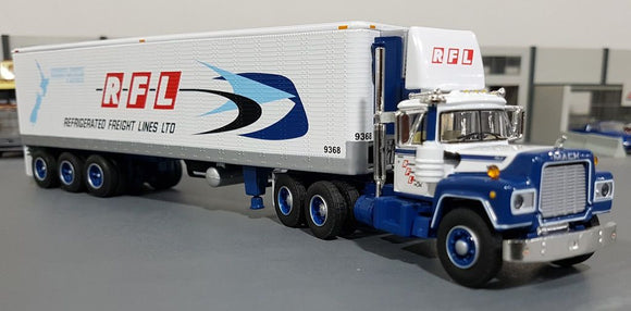 1/64 DCP / FIRST GEAR RFL MACK R-MODEL DAY CAB