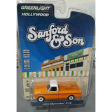 1/64 GREENLIGHT SANFORD & SON 1971 CHEV C-10 PICK UP FROM TV SERIES NEW ON CARD