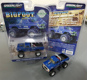 1/64 GREENLIGHT FORD F100 BIGFOOT MONSTER TRUCK NEW ON CARD
