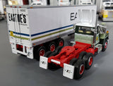 1/64 DCP / FIRST GEAR MACK R-MODEL EASTOES WITH VINTAGE TRI AXLE TRAILER