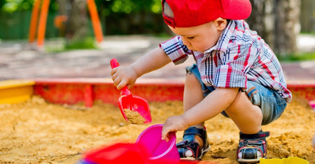Summer, Sun & Sandpits - A Winning Childhood Trio