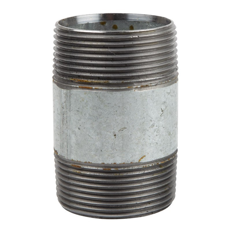 K-brand Nipple Galvanised Barrel 50mm