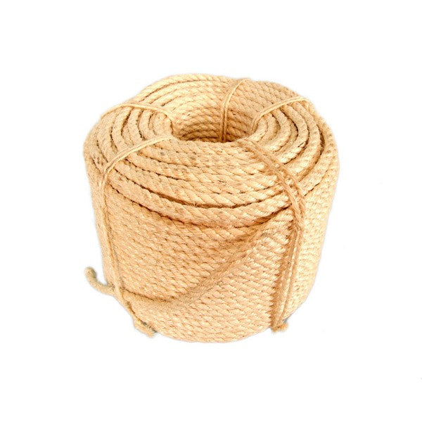 Sisal Rope Dry 20mm 1 Roll 180m