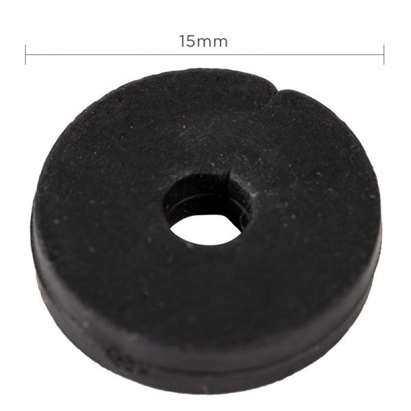 Washer Tap Rubber 15mm Light Patten pkt 10