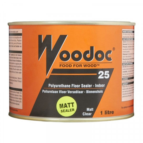 Woodoc 25 Floor Sealer Matt 1L