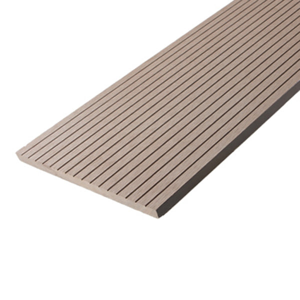 Modern Groove Composite Fascia Cladding Plank 246 x 16mm x 2.9M Rusteak