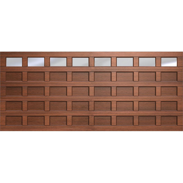40 Panel G8 Polycarb Double Marine Ply Tech Garage Door