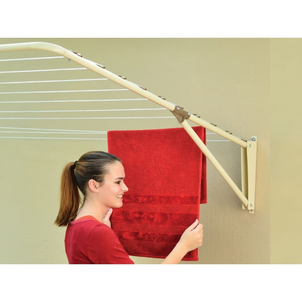 Fold-away Ultimate washing line (Powder Coated)