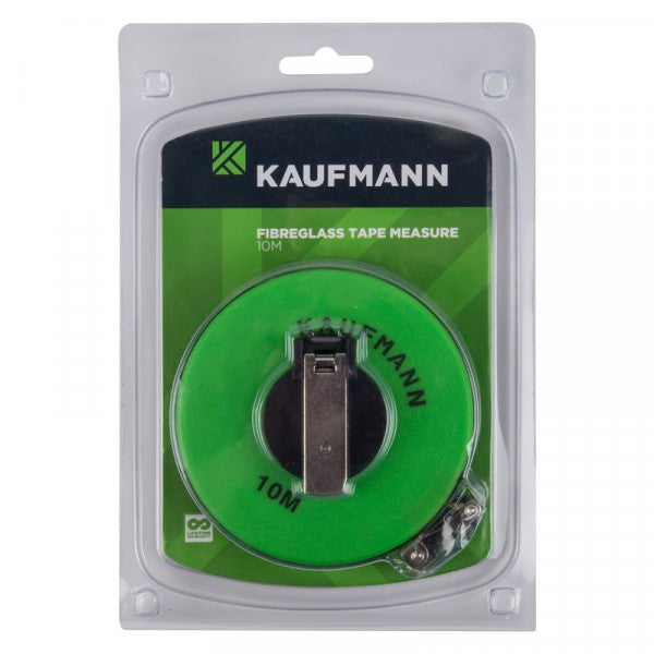Kaufmann Tape Measure Fibre Glass 10M