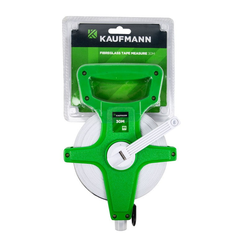 Kaufmann Tape Measure Fibre Glass Crp-J3 30M