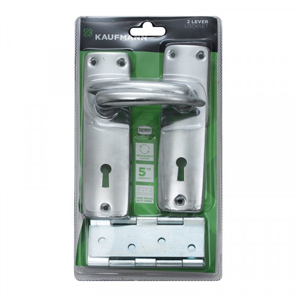 Kaufmann Lockset Combo (Handle 2L Lock Hinge)