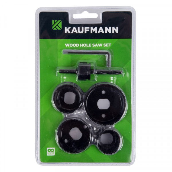 Kaufmann Hole Saw Wood 5 Pce Set