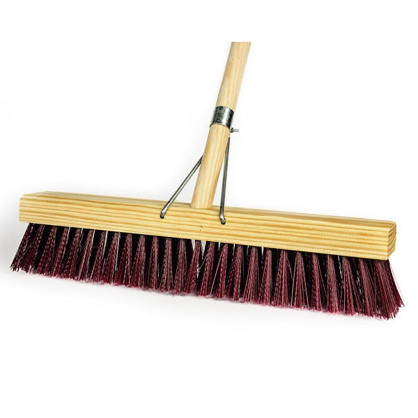 Broom Platform With Wooden Handle 450Mm Firm