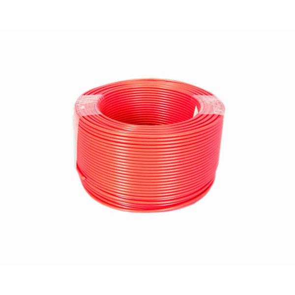Cable Electric Pvc Red 1.5mm 100m Roll
