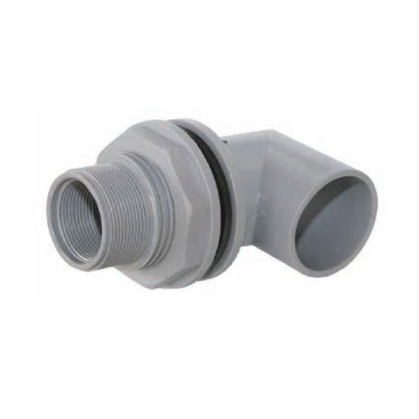 JoJo male/female tank connector 50/40mm with elbow