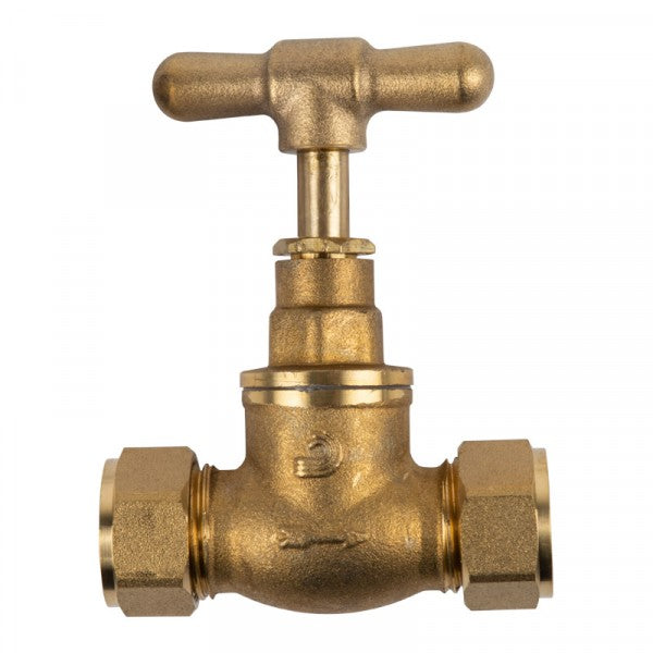 Tap Stop Brass Cxc Belatori 15X15Mm