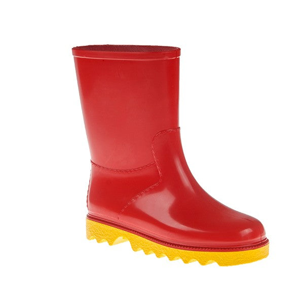 Kiddies Gumboots Size 6 Red & Yel