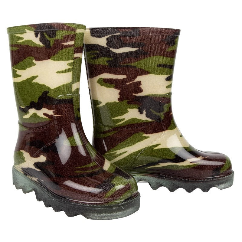 Kiddies Gumboots Size 11 Camouflage