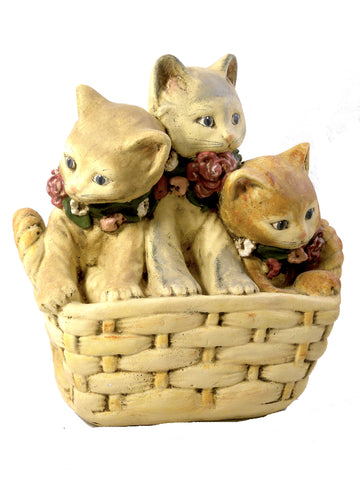 Cat Basket- Open Edition - BELLAVINTAGEHOME