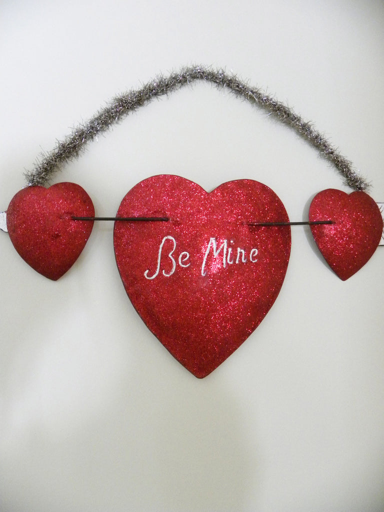 "Heart Plaque ""Be Mine"""