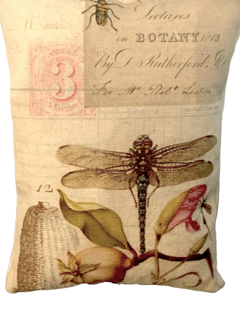 Botany  Accent Pillow - BELLAVINTAGEHOME