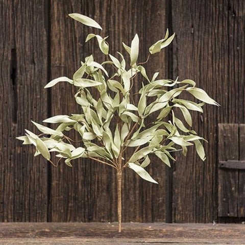 "a Flocked Herb Bush    24"" - BELLAVINTAGEHOME"