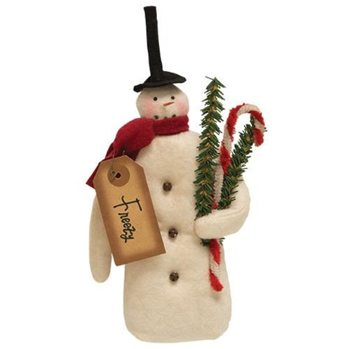 Freezy  Snowman  or Ornament - BELLAVINTAGEHOME