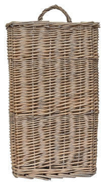 "Baskets-Willow Wall Basket 17"" - BELLAVINTAGEHOME"