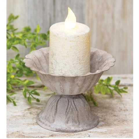 "a Vintage style Distressed  urn 4"" NEW!! - BELLAVINTAGEHOME"