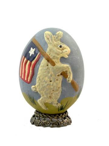 Walnut Ridge-Liberty Egg- Open Edition - BELLAVINTAGEHOME