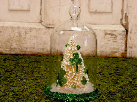 Shamrock Tree Cloche - BELLAVINTAGEHOME