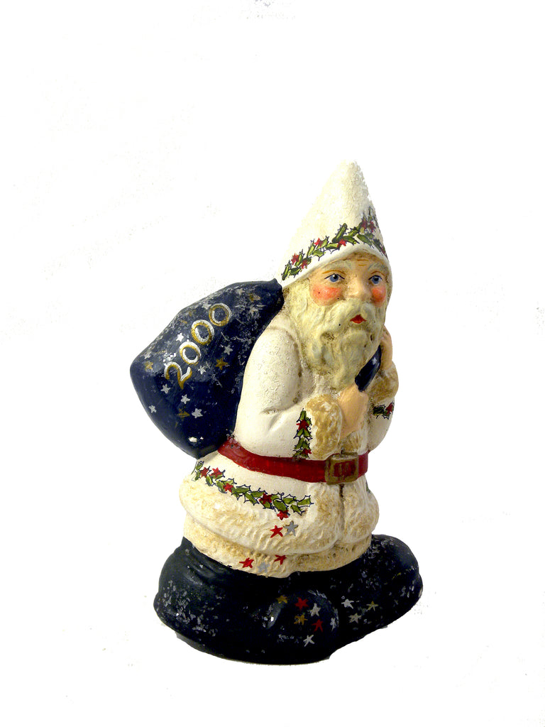 2000 Annual Santa- Limited Edition - BELLAVINTAGEHOME