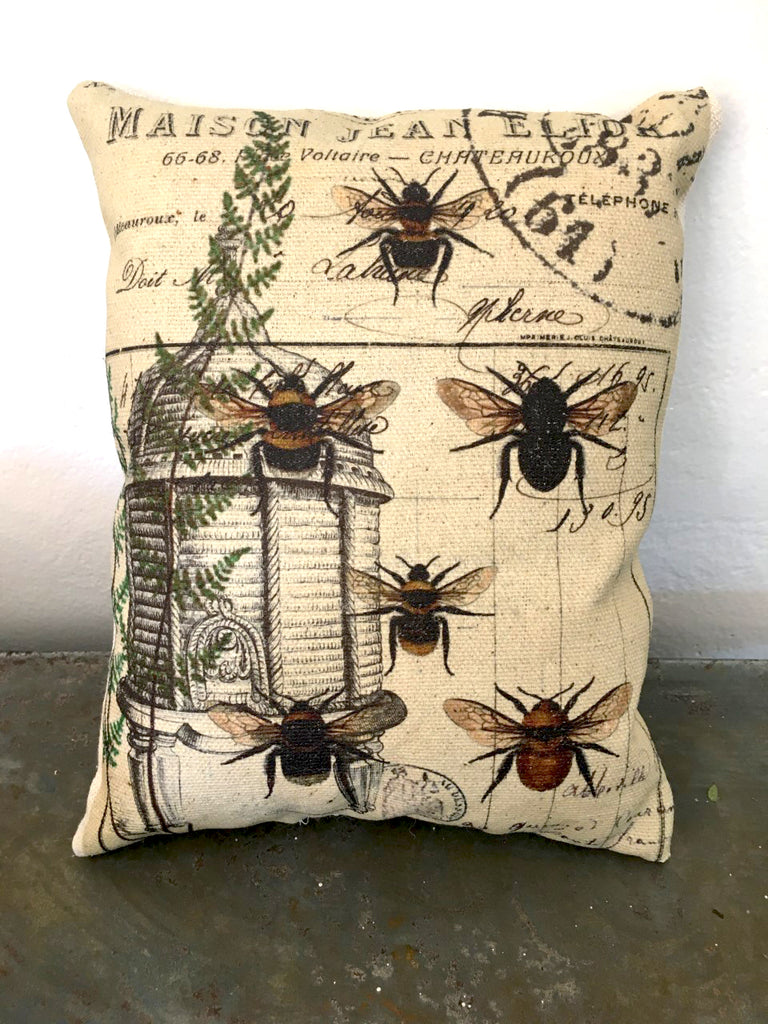 Bee & Fern  Accent Pillow - BELLAVINTAGEHOME
