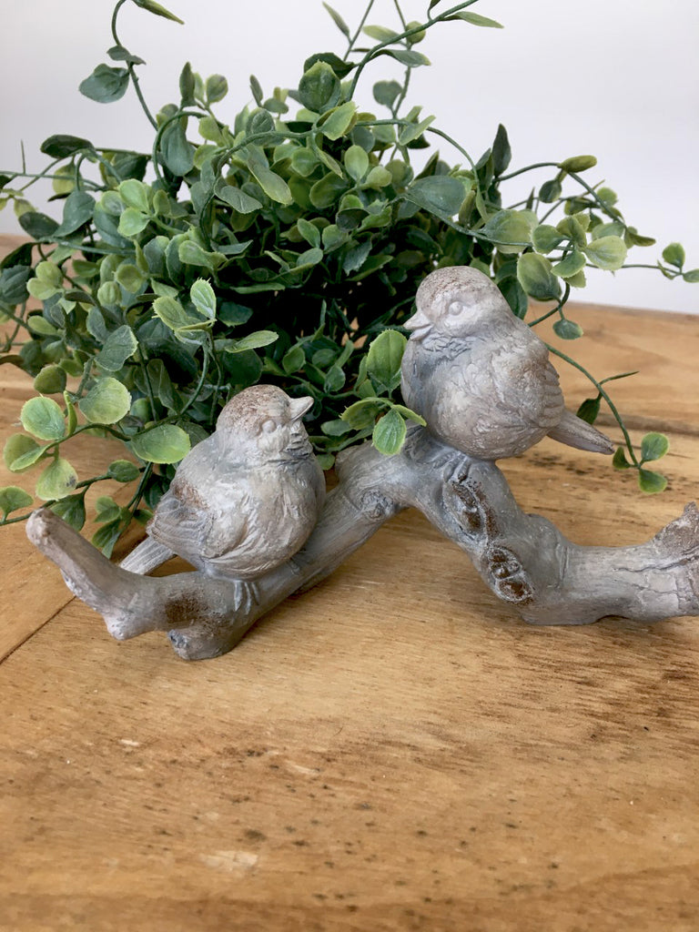 "Two Birds on Branch 6"" NEW!! - BELLAVINTAGEHOME"