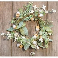 a Whisper Candle Ring/ Wreath - BELLAVINTAGEHOME