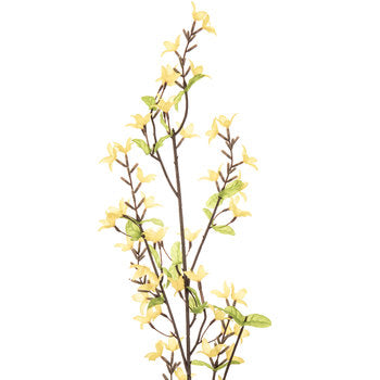 "a Set/3 Forsythia  Stems 16"" - BELLAVINTAGEHOME"