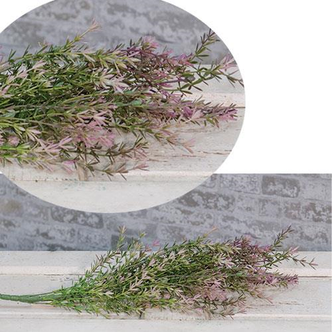 "a French Lavender and Asparagus Bush 23""  NEW! - BELLAVINTAGEHOME"
