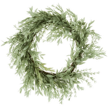 "a Locust and Rosemary Wreath 18"" - BELLAVINTAGEHOME"