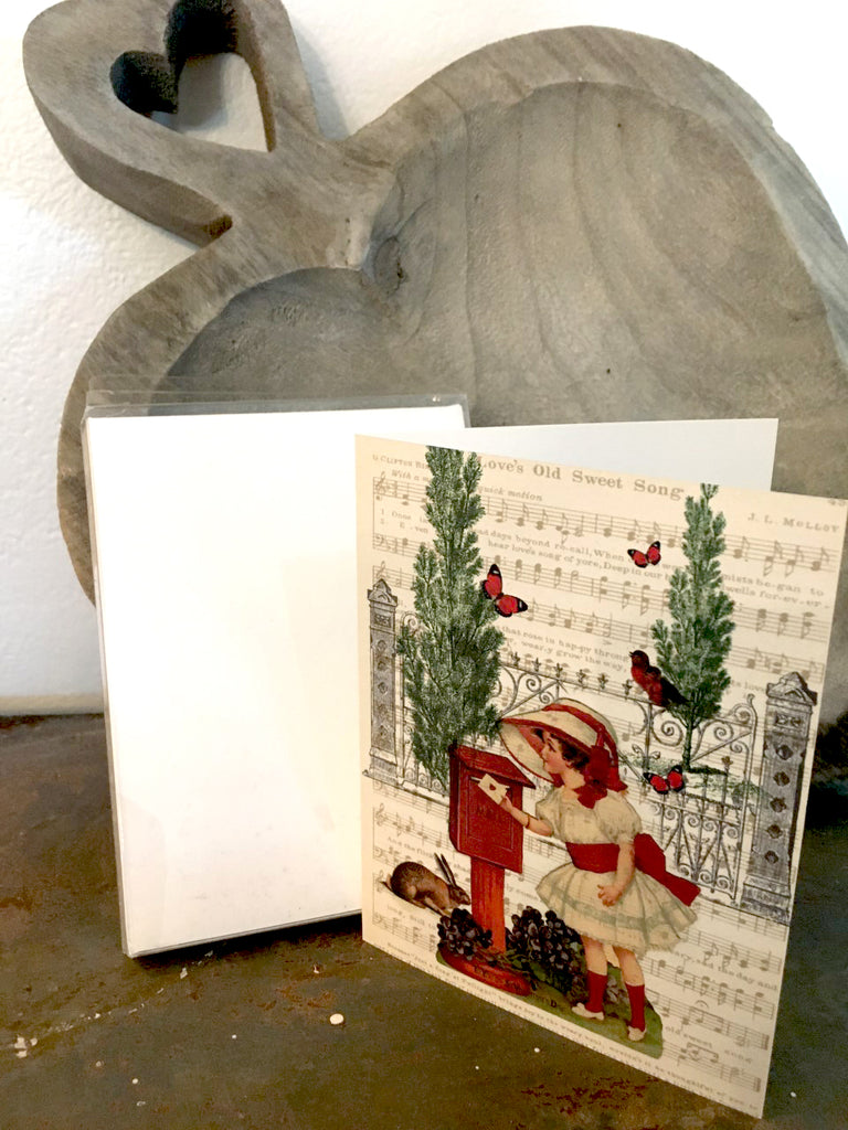 Valentine Boxed  Notecards - BELLAVINTAGEHOME
