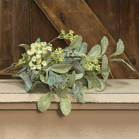 "a Mixed Lamb's Ear Pick 17"""" - BELLAVINTAGEHOME"