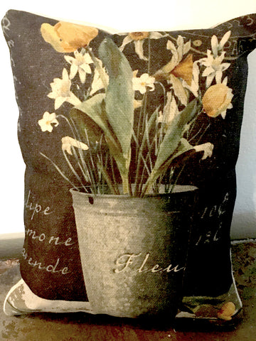 Narcisse  Accent Pillow - BELLAVINTAGEHOME