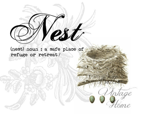 Nest &  Egg Print,  Pillow, Note Cards