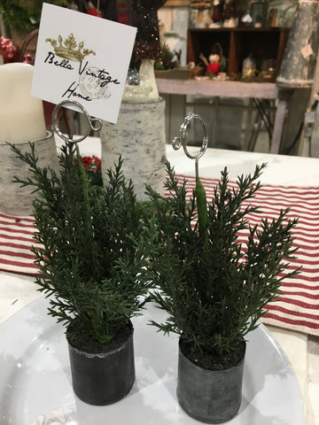 Pine Place Card Holder