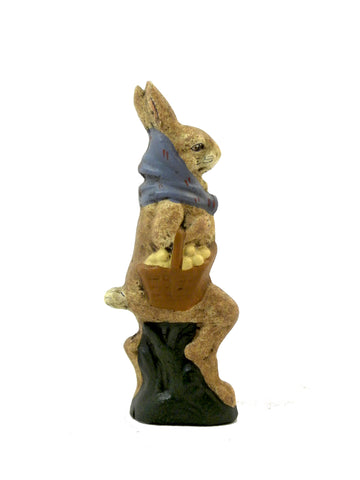 Rabbit with umbrella- Open Edition - BELLAVINTAGEHOME