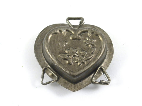 Valentines Heart with flower Mold