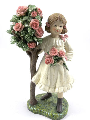 ValentinesGirl with Rose Tree - BELLAVINTAGEHOME