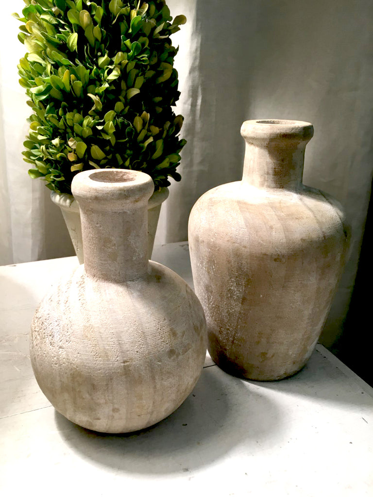 Turned Wood Bottles - BELLAVINTAGEHOME