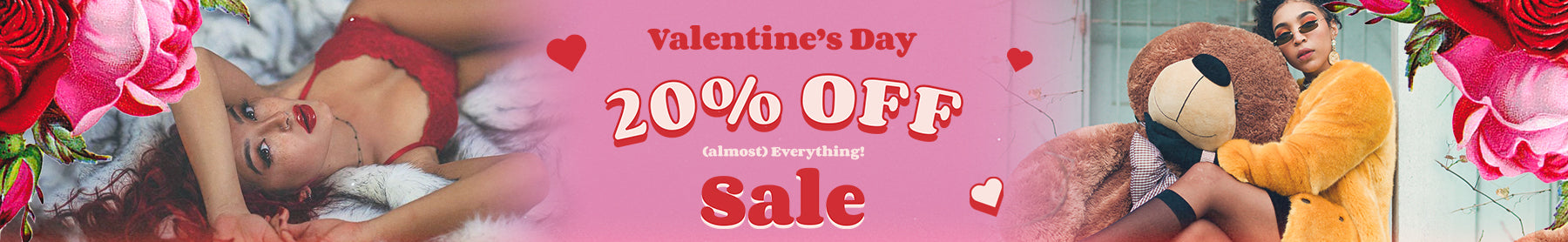 Valentine's Day Sale: 20% OFF this ENTIRE Collection!